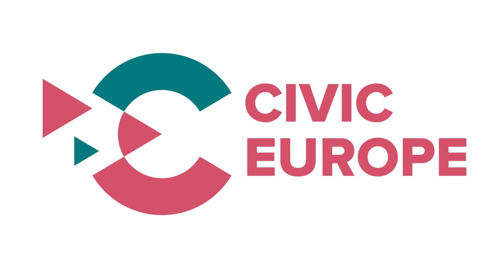 Logotyp programu Civic Europe