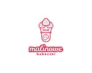 Logotyp Catering Malinowe Babeczki