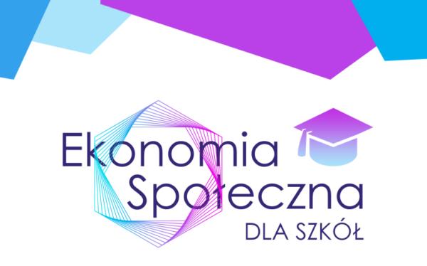 Logotyp Ekonomia Społeczna dla szkół